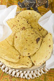 Indian food, Makai Ki Roti — Stock Photo
