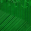 Green electronic circuit board — Stock Photo #10232205