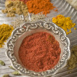 Red Indian spices — Stock Photo