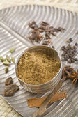 Brown Indian spices — Stock Photo