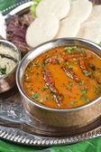 Sambar, lentil dish. Indian food — Stock Photo