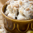 Lard with cracklings — Stock Photo