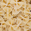Close-up of raw farfalle pasta - Foto de Stock