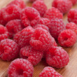 Fresh raspberries — Stock Photo #9165470