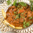 Indian food, Shahi Rogan Josh - Stock Photo