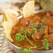 Indian food, Shahi Rogan Josh, lamb - Stock Photo