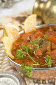 Indian food, Shahi Rogan Josh, lamb — Stock Photo