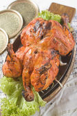 Indian food, Tandoori Murghi — Foto de Stock