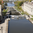 Stock Photo: Rideau Canal, Ottawwater locks