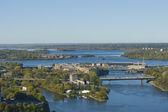 Ottawa river, Ottawa Canada — Stock Photo