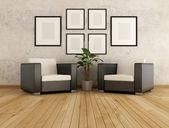 Modern lounge — Stock Photo