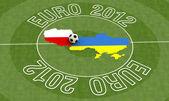 Euro 2012 — Zdjęcie stockowe