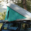 Rooftop Tent — Stock Photo