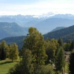 Alpine Panorama — Stock Photo