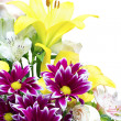 Bouquet of different flowers — Stok Fotoğraf #10481423