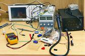 Desktop elektriker — Stockfoto