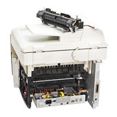 Broken laser printer — Stock Photo