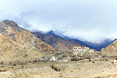 Lekir Buddhist monastery in the Himalayas — Stock Photo