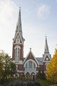 Chiesa evangelica luterana di joensuu — Foto Stock