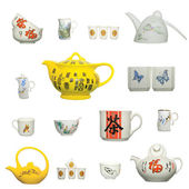 Chinese ceramics product icon — Stock Photo
