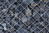 Stones in contains — Stock Photo