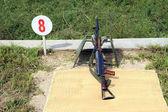Automatic rifle — Stock Photo