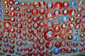 Przewodniczący mao odznaka — Zdjęcie stockowe