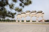 Stone memorial arch — Stock Photo