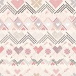 Abstract geometric seamless pattern. Aztec style pattern — 图库矢量图片