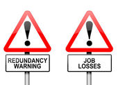 Job losses concept. — Stock Photo