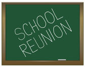 School reunion concept. — Stock Photo