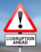 Corruption warning. — Stock Photo