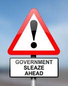 Government sleaze concept. — Stock Photo