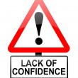 Stock Photo: Confidence concept.