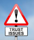 Trust concept. — Stock Photo