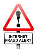 Internet fraud concept. — Stock Photo