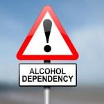 Постер, плакат: Alcohol misuse concept