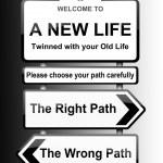 Choosing the right path. — Stock Photo #10152607
