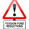 Pension fund disappointment. — Stock Photo