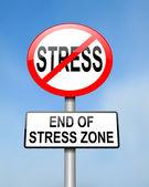 Final del estrés. — Foto de Stock