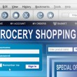 Online grocery shopping. — Stock Photo