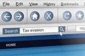 Daňové úniky. — Stock fotografie