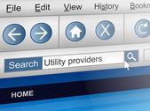 Utility provider concept. — Stock Photo