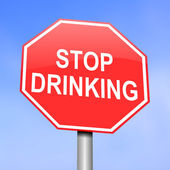Alcoholism concept. — Stock Photo