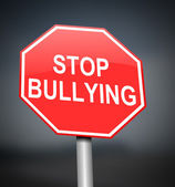 Stop bullying sign. — Stock Photo