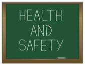 Zdrowia i bezpieczeństwa — Zdjęcie stockowe
