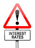 Interest rates. — Stock Photo
