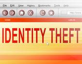 Identity theft concept. — Stock Photo