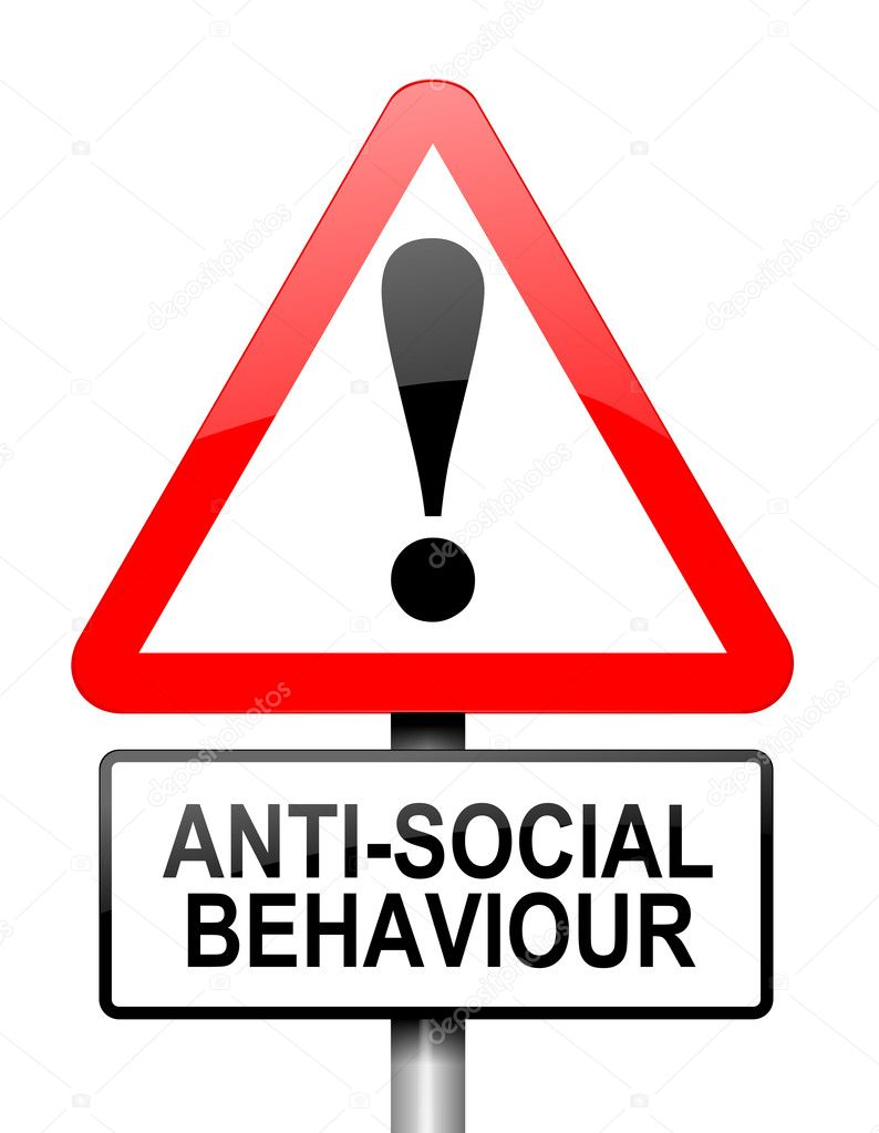 anti social behaviour Prevention, early intervention and support are all key to tackling anti-social  behaviour, backed by a full range of enforcement powers view our anti-social.