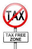 Tax free zone. — Stock Photo